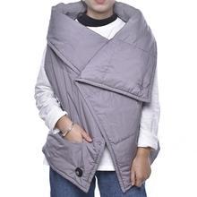 Multifunctional USB Heating Jacket Electric Heating Vest Blanket Graphene Warm Shawl Electric Thermal Heating Mat Clothing