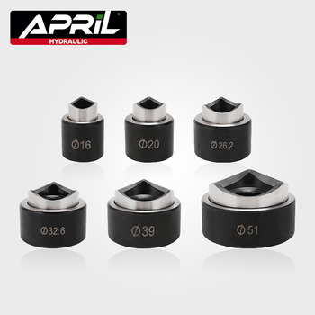 6 sztuk dziurkacz hydrauliczny wykrawacz foremki/dziurkacz wykrawacz foremki/okrągły otwór nokaut punktak pneumatyczny zestaw SYK-8A