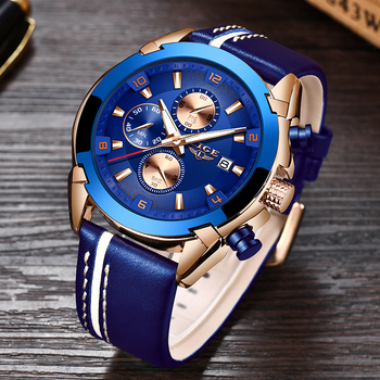 LIGE Fashion Date Quartz Men Watches Top Brand Luxury Male Clock Chronograph Sport Mens Wrist Watch Hodinky Relogio Masculino 2020 fashion quartz watch men watches luxury male clock business mens wrist watch hodinky relogio masculino dropshipping