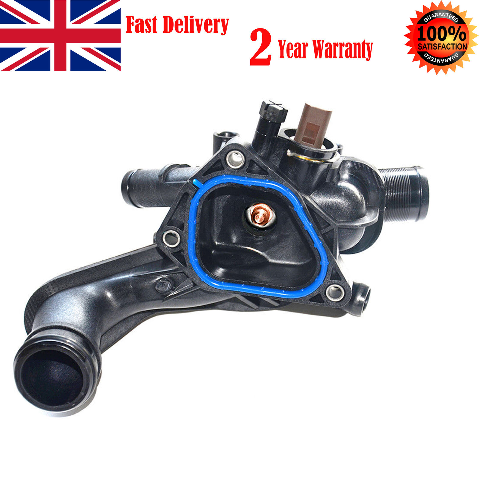 Genuine Thermostat /& Housing Mini R55 R56 R57 One Cooper S /& JCW 1.4 1.6 Petrol