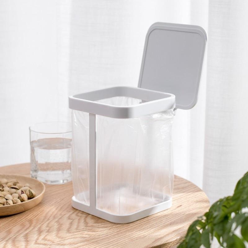 Hot DealsCreative Nordic Desktop Trash Can Home Kitchen Storage Bucket Office Paper Basket