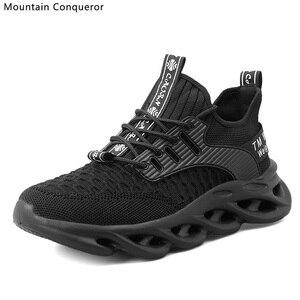 Image 3 - Montagne conquérant Ins vente chaude vulcaniser chaussures hommes décontracté course baskets hommes grande taille 39 46 chaussures pour homme vulcaniser chaussures