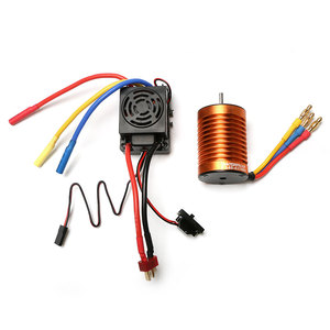 Image 5 - Запчасти WLtoys 12428, 4300KV бесщеточный двигатель 60A ESC сервопривод, набор компонентов, Третий канал, переключатель, металлический дифференциал