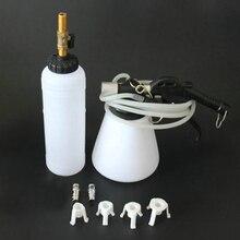 1pcs Universal Car Motorcycle Brake Fluid Oil Replacement Filler Vacuum Pump Kit Pneumatic Fluid Bottle Set motorcycle modified brake pump oil cup yellow