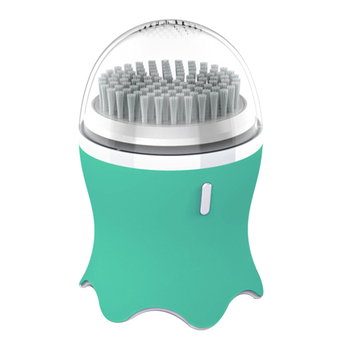 Facial Cleansing Brush for Exfoliating, Electronic Facial Cleansing Brush with 3 Modes, Smart Timer and Soft Bristles, Waterproo