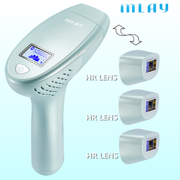 MLAY 3in1 2020 Laser Hair Removal Machine Laser Epilator Hair Removal Permanent Bikini Trimmer Electric depilador a laser kinseibeauty ipl laser hair removal machine laser epilator hair removal permanent bikini trimmer electric depilador a laser