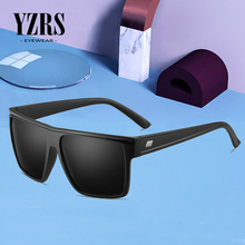 YZRS Brand Retro Square Men Sunglasses Driving Male Shades UV400 Fashion Women Gafas Polarized Female Eyewear