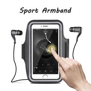 Спортивный чехол с ремешком на руку 4,0/6,2 дюйма, модный держатель для телефона для женщин, сумки для смартфонов, слинг для бега, тренажерный з...