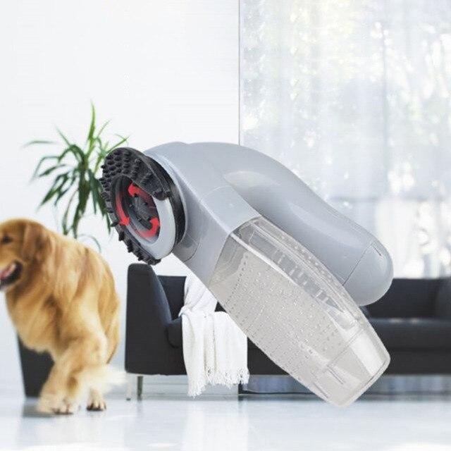 Dispositif lectrique d pilation pour animaux de compagnie nettoyage chat chien fournitures Portable aspirateur pour animaux
