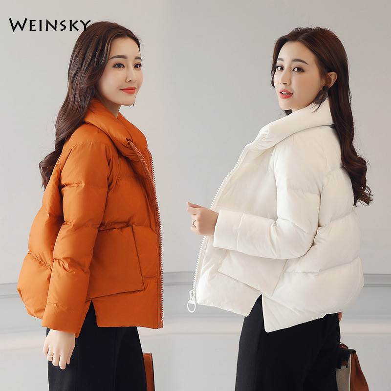 New Winter Women Jacket Female Full Sleeve Warm High Quality Parka Coats And Tops
