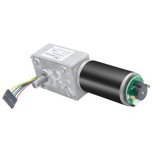 40GZ495 DC турбо червячный мотор-редуктор с кодером 12 в 8-470 об/мин Реверсивный с кодером и кабелем для робота-игрушки интеллектуальное устройств...