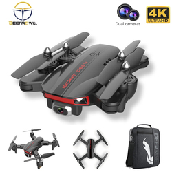 2021 New LU 8 Drone 4k Gps Professional 2KM HD With 60°ESC Camera Two-Axis Gimbal 5G Wifi Rc Helicopter Quadcopter Dron Toys