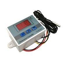 XH-W3002 W3002 AC 110V-220V DC24V DC12V Led Digital Thermoregulator Thermostat Temperature Controller Control Switch Meter