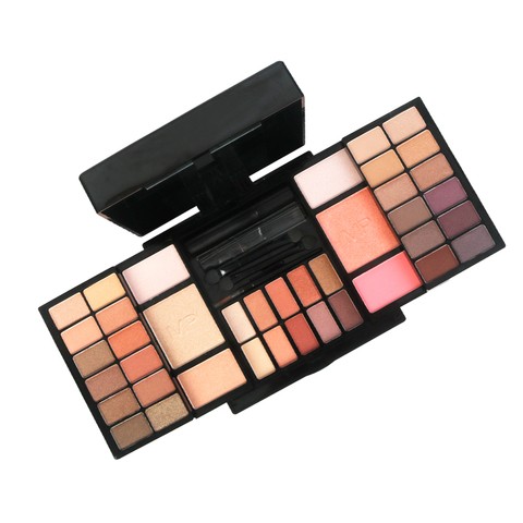 35 cor profissional maquiagem sombra conjunto shimmer pigmentado brilho fosco para longa