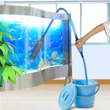 SENZEAL Fish Tank Gravel Vacuum Cleaner Water Filter Syphon Hose Siphon Pump Manual Cleaner Pump Fish Water Changer 2pcs high quality industrial vacuum cleaner water pump accessories hose fittings vacuum cleaner parts