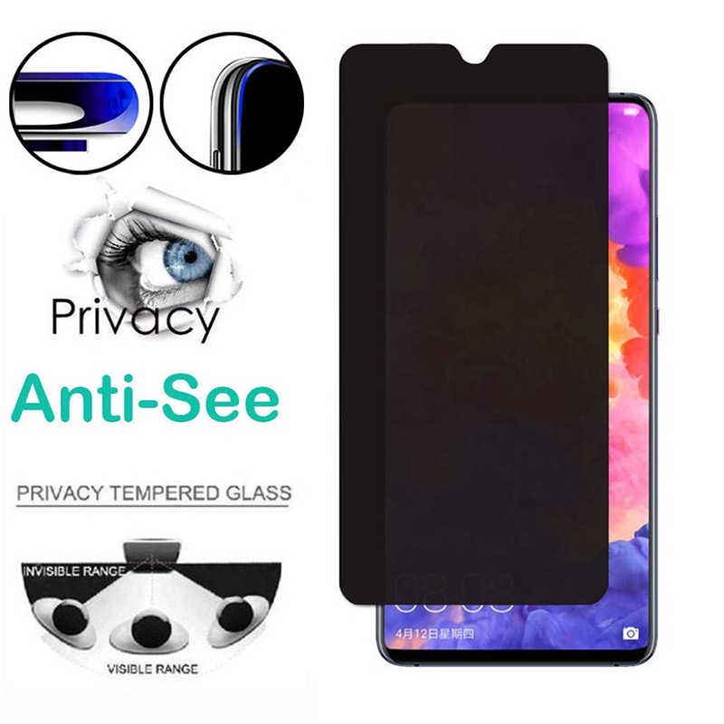 Tempered Glass for LG G6 Prime Anti-Glare Privacy Anti-spy Protective Glass for LG G8 G7 ThinQ Screen Protector for LG G5 G4 G3