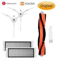 Vacuum Cleaner Parts for XIAOMI Mijia 1/1s / Roborock Robot  HEPA Filter Main Brush Side Brush  Original Parts Pack Peças p/ aspirador de pó     -