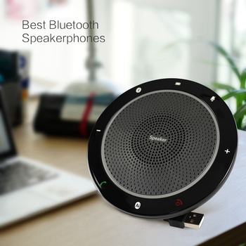 Omni-Directional Microphone Press Smart Bluetooth Speaker USB Conference Phone Dual Mode CP910