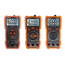 Portable Digital Multimeter 6000 counts 113A/113D RM113E  NCV Digital Multimeters Auto Range ACDC voltage meter Flash Backlight