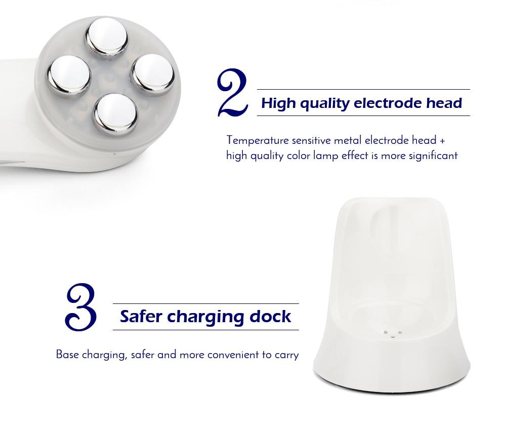 caneta facial led fóton para equipamentos de
