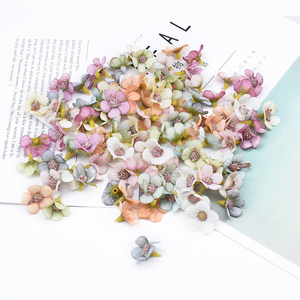 50 Pieces Small daisy scrapbooking wedding home decoration accessories stamen christmas flowers diy gifts box artificial flowers