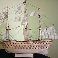 Assembling Building Kits Wood Ship Model Diy Assembled Royal Navy Wooden Model Ships The Victory Sailboat Modeling Toy Kit
