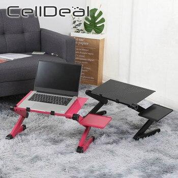 Business Office Furniture Laptop Desk Aluminum Laptop Computer Table