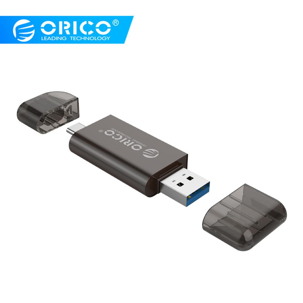 ORICO USB 3.0 Micro SD Card Reader USB 3.0 Micro SD TF Memory Card Reader Max Support 128GB For Computer USB 3.0 Card Readers