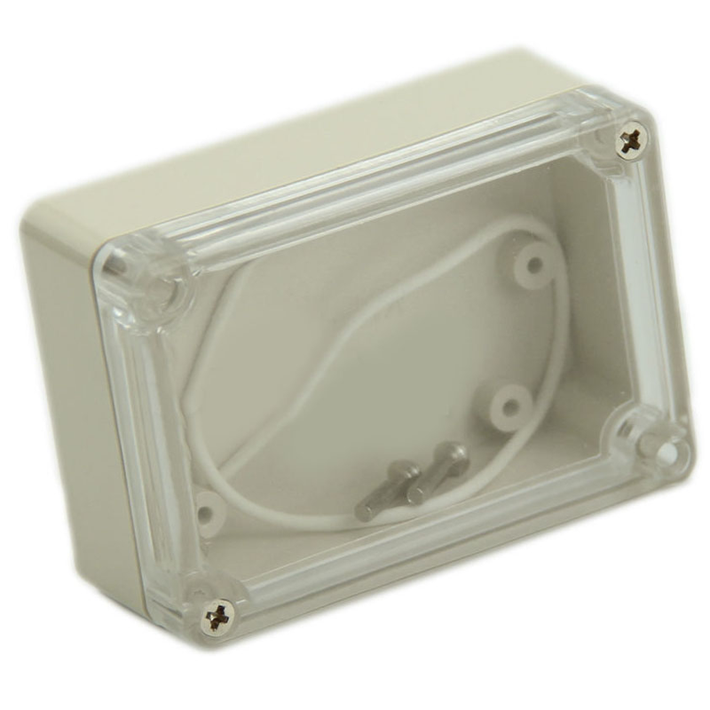 1PC Small Security Power Supply Plastic Case Waterproof Wire Junction Boxes With Transparent Lid 85*58*33cm