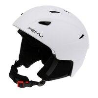 Ski Helmet Skateboard Skiing Snowboard Winter Sport Helmet + Pro Ski Goggles Snowmobile Skateboard Safety Helmet