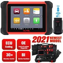 Autel Tableta de codificación ECU MaxiCOM MK906BT, escáner, herramienta de diagnóstico OBD2, accesorios de coche, Bluetooth, inalámbrico, mejor que MS906BT