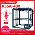 2019 Tronxy 3D принтер X5SA-400/X5ST-400/X5SA большой размер печати 3,5 дюймов TFT сенсорный экран PLA ABS Нити