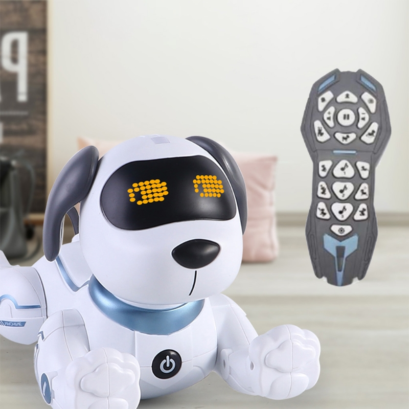 Remote Control Dog RC Robotic Stunt Puppy Dancing Programmable Smart Toy Gift GXMB