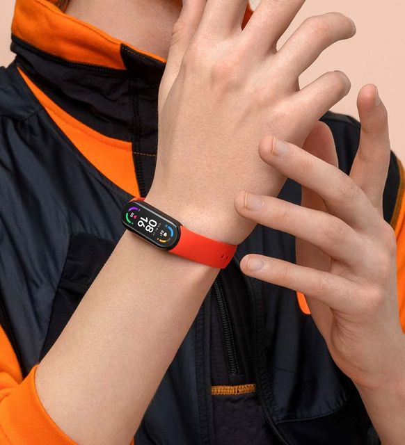 "Original Xiaomi Mi Band 6 Sport Wristband Heart Rate Fitness Tracker Miband 6 1.56 "" AMOLED Screen Smart Band 5 Color Bracelet 5"
