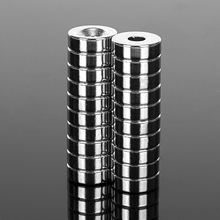 20PCS Very Powerful 15x5mm Neodymium Magnet with 5mm Countersunk Bore Strong Magnetic Rare Earth NdFeB Permanent Magnets 15*5mm