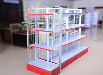Supermarket shelf convenience store snack drugstore stationery store display shelf multi-functional combination