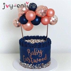 Image 1 - פלמינגו החתונה בלון Cupcake טופר קישוט ילדי מסיבת יום הולדת תינוק מקלחת חתונת טופר עוגות אפייה