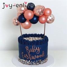 Flamingo Hochzeit Kuchen Topper Ballon Cupcake Topper für Dekoration Kinder Geburtstag Party Baby Dusche Topper hochzeit Kuchen Backen