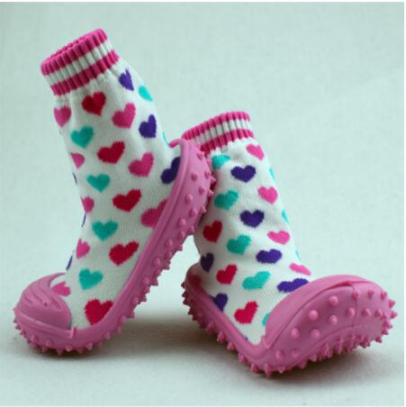 Baby Socks  Soft Non-slip Floor Rubber Soles Toddler Girl Boy Baby Socks Wholesale Custom Newborn Non Slip Socks