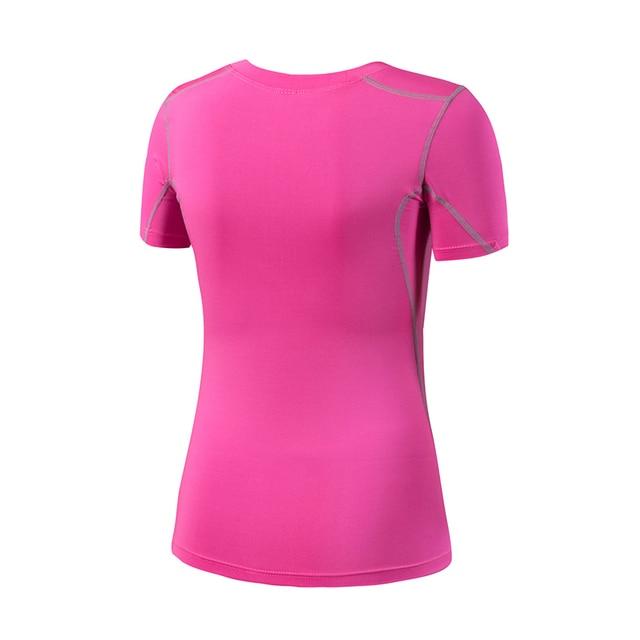 Ladies Quick Drying Fitness Shirt 4