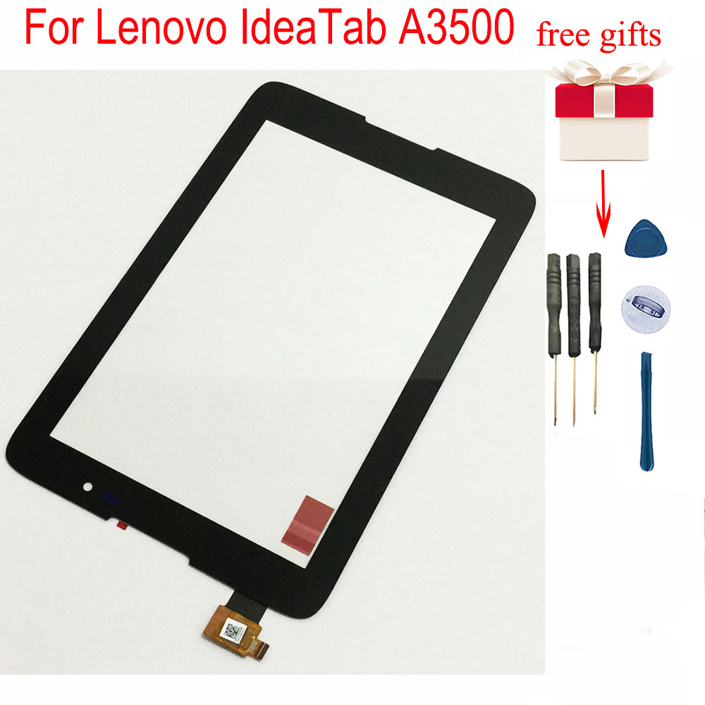 Touch Screen Sensor Glass Digitizer For Lenovo IdeaTab A3500 Repair Replacement 100% Test For A3500-F A3500-H A3500-HV A7-50