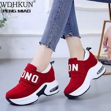 Women Sneakers Plus Size 35-40 Lace Up Canvas Shoes Black Ca