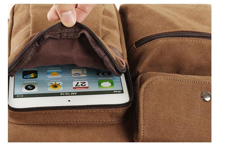 Hb1ed00a321a042e59b923c046fae49f9P Jorgeolea Men Canvas Business Briefcase Versatile Casual Handbag For Men Travel Satchel E502