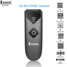 Eyoyo EY-015 mini scanner de código de barras usb com fio 2.4g sem fio 1d 2d qr pdf417 código de barras para ipad iphone android tablets pc