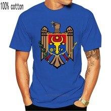 Manteau des bras pour T-Shirt, autocollant gratuit, drapeau de la moldavie, Mda Md, T-Shirt Vintage