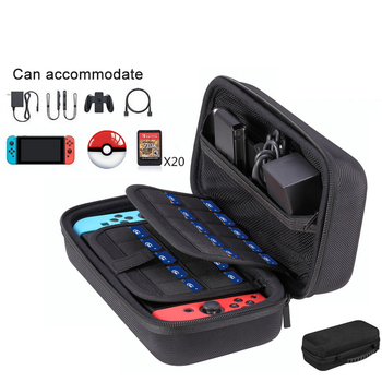 Switch Hard Case for Nitendo switch Nintendo NS Accessories Large Shell Travel Carrying Storage bag Stand Large Capacity Console