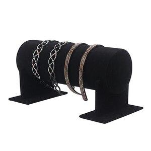 Portable Velvet Jewelry Displa