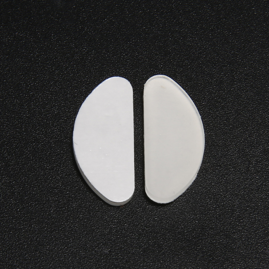 5 Pairs Non-slip Silicone Nose Pads For Glasses Eyeglasses Sunglasses Spectacles Massage Health Care