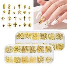 1 коробка новый дизайн ногтей японского искусства 12 Сетка гвоздь
