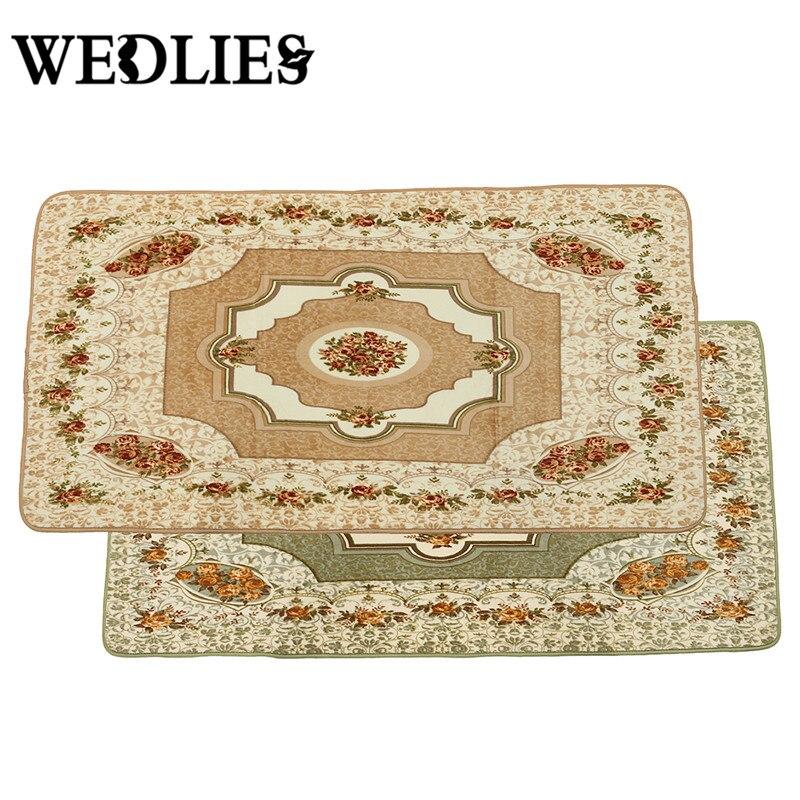 Tapis de cuisine salon/chambre tapis tapis de cuisine pour sol Polyester tapis moderne tapis Rose Beige Rose vert 2 couleur